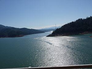 Lake Shasta from I-5