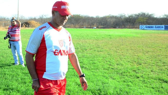 Wassil Mendes - técnico do Potiguar de Mossoró (Foto: Wilson Moreno/Gazeta do Oeste)