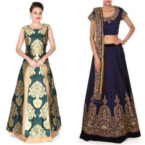 Mehndi and Sangeet Dresses for Bridals 2017   Stylo Planet