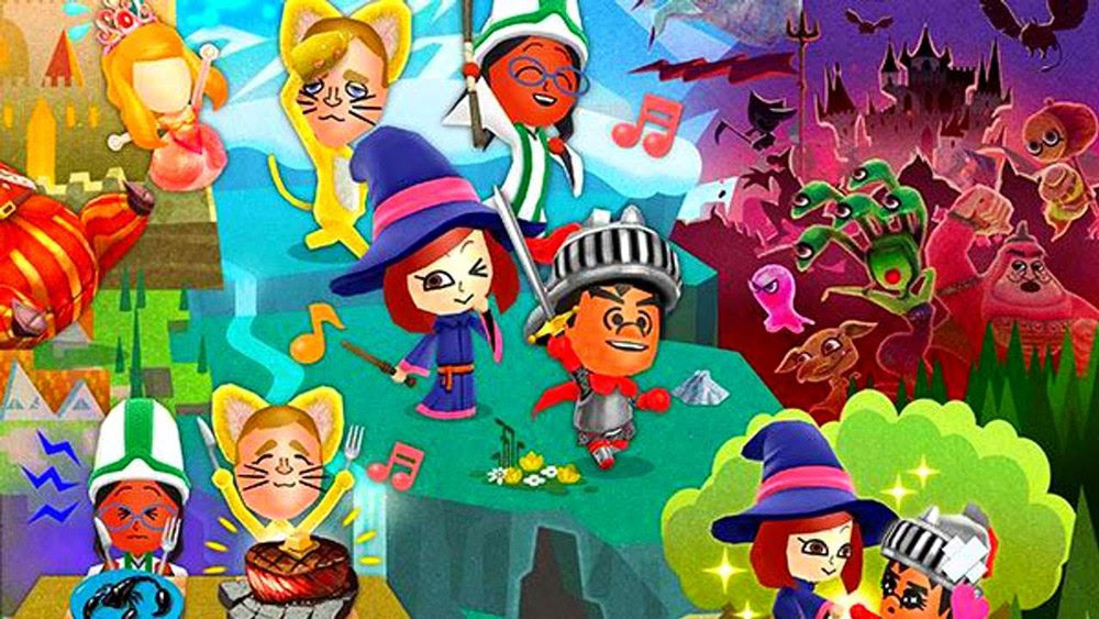 Who is in your Miitopia squad? screenshot