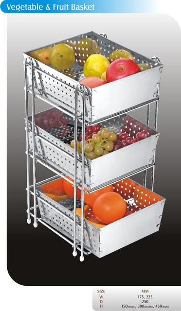vegetable fruit basket - kitchen - other metro - by SHREE RAM