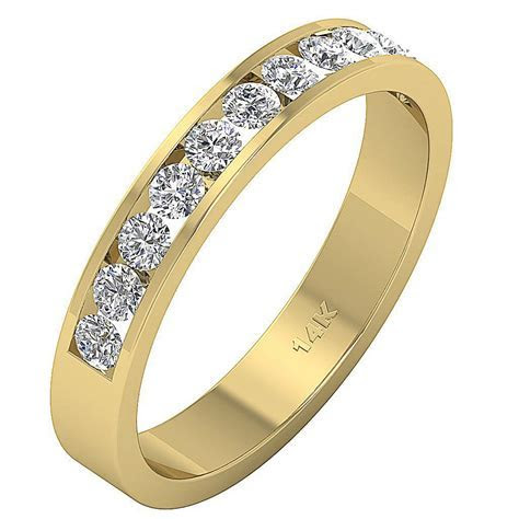 VVS/VS/SI/FG 0.75 Ct Round Diamond Jewelry 14Kt White Gold