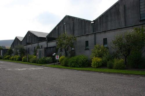 Warehouses at The Glenlivet Distillery