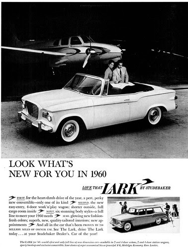 1960 Lark by Studebaker Automobile Advertisement - Ebony Magazine, December, 1959 by vieilles_annonces
