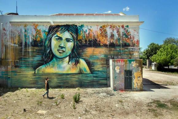 Alice Pasquini En Montevideo O De Como El Street Art Contribuye A