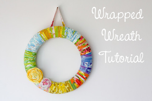 Wrapped Wreath Tutorial - In Color Order