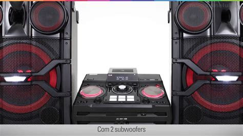 mini system lg  cd  subwoofers  rms bluetooth  mp