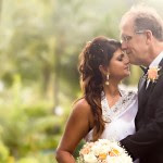 bride and groom love cairns wedding makeup adn hair paradise palms Indian wedding