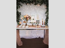 26 Inspiring Chic Wedding Food & Dessert Table Display Ideas ? Elegantweddinginvites.com Blog