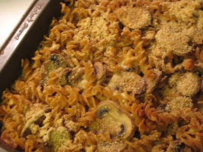 Macaroni and Cheese with Gruyere and Mushrooms
