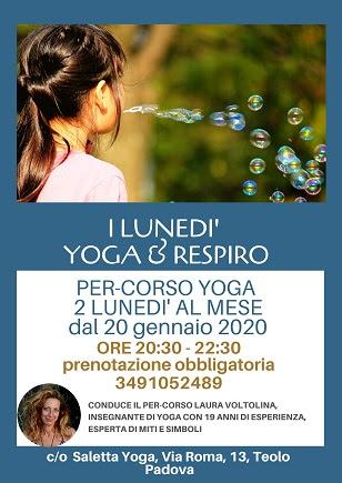 I Lunedì Yoga &  Respiro