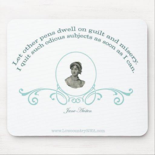 Jane Austen Quote Mouse Pad  Zazzle