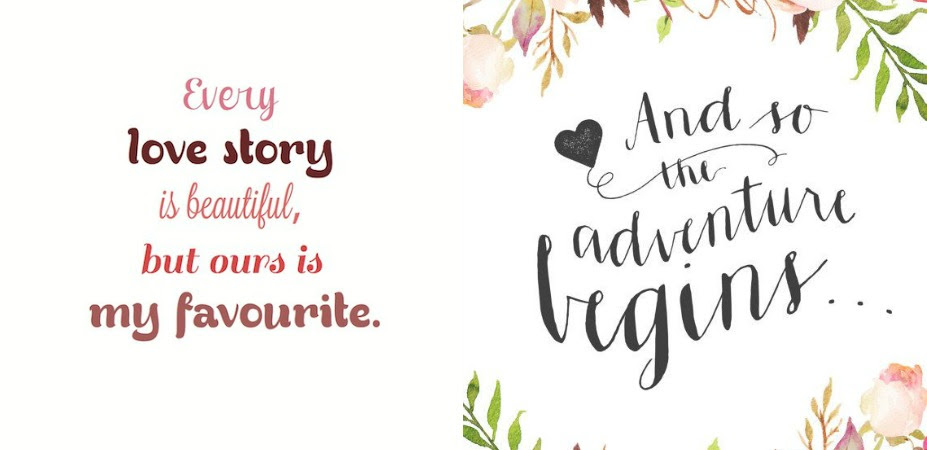 24 Beautiful Quotes To Use On Your Wedding Day Wedded Wonderland