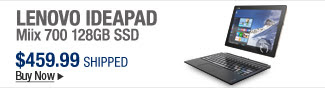 Newegg Flash – Lenovo IdeaPad Miix 700 128GB SSD