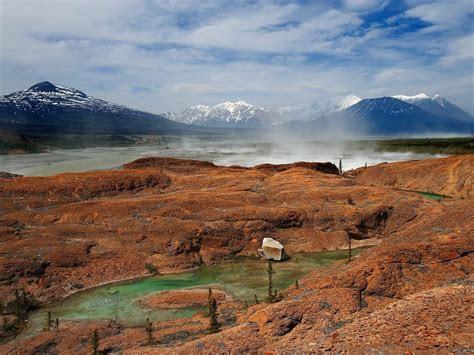 lake  valley canada scenery wallaper lake  valley