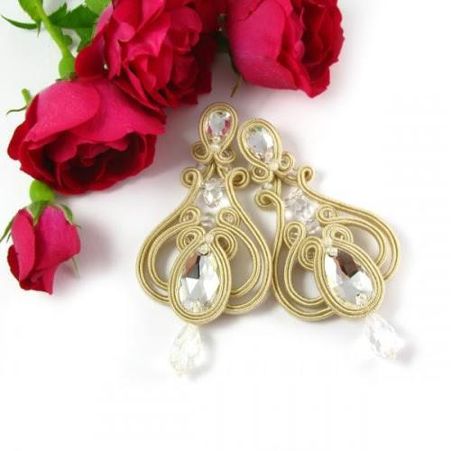 Biżuteria ślubna soutache PiLLow Design