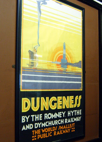 Romney, Hythe & Dymchurch Railway poster - Dungeness