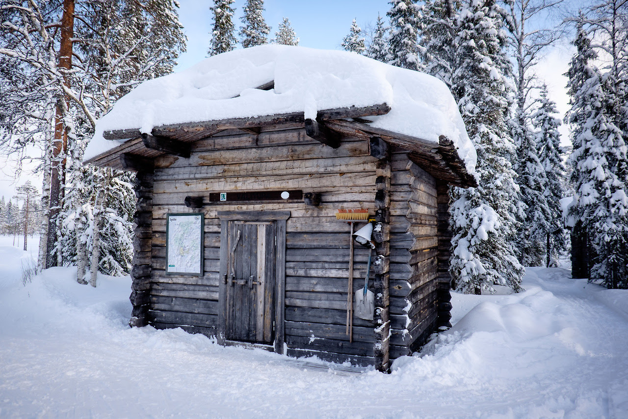 One of many cabins in Syöte National Park, Finland Contributed by Florian Kühnlenz