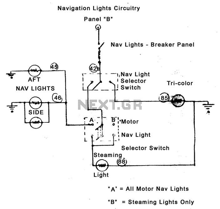 34 Navigation Lights Wiring Diagram