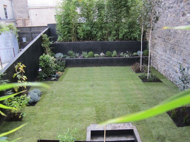 Awesomeviews jardin terrasse for Amenagement jardin contemporain
