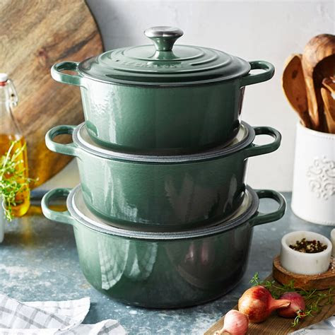 le creuset signature  dutch oven  qt sur la table