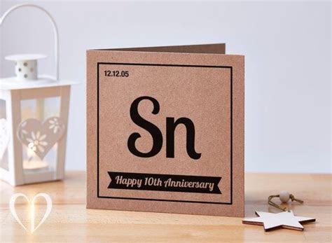 Personalised 10th Anniversary Card, 10 Year Anniversary