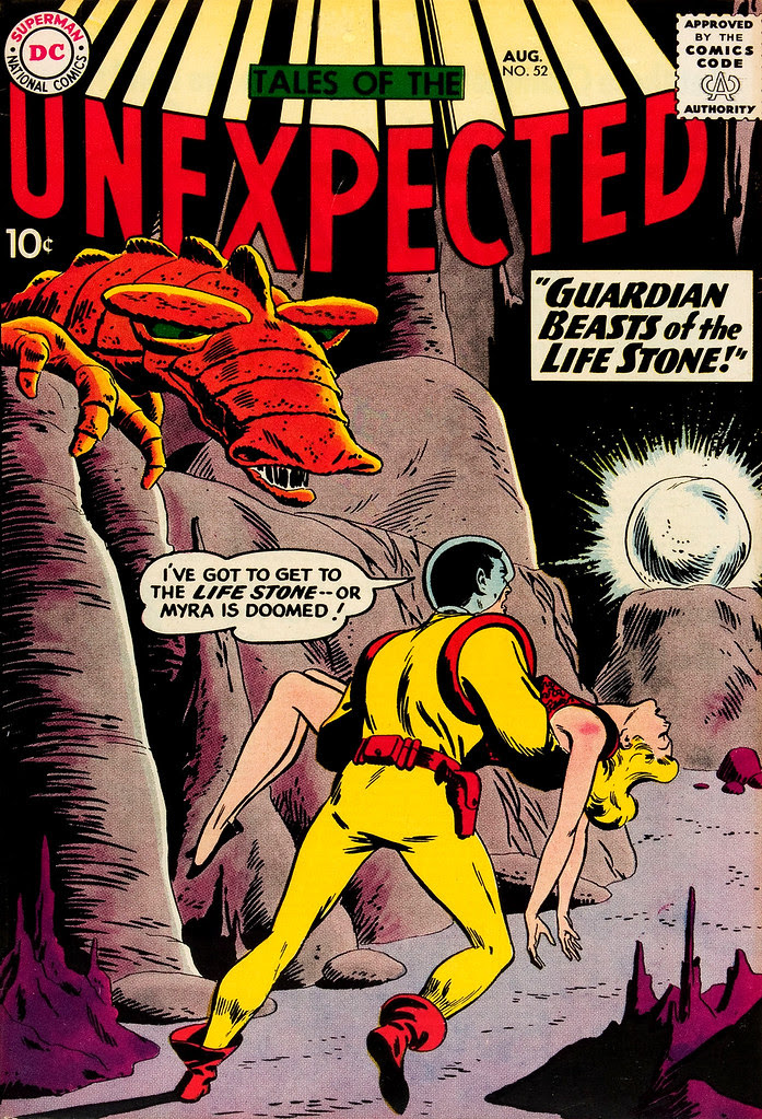 Tales of the Unexpected #52 (DC, 1960) Bob Brown cover
