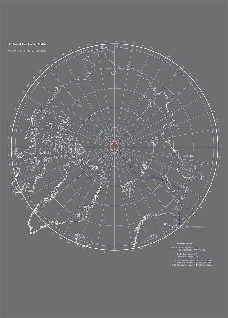 Arktika Navigation Report
