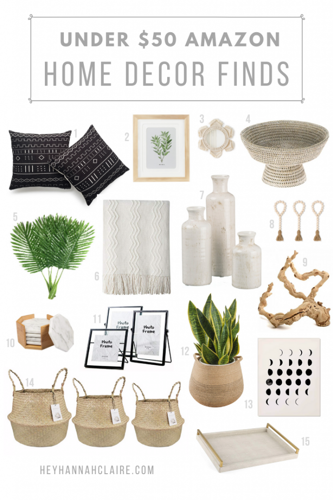 Affordable Home Decor Finds On Amazon Hey Hannah Claire Lifestyle Fashion Blog