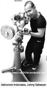Johny Setiawan astronom Indonesia