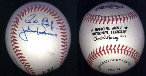 Is this baseball susceptible to contracting impurity?