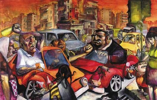 JAMER: Η Αθήνα χωρίς δημόσιες συγκοινωνίες.