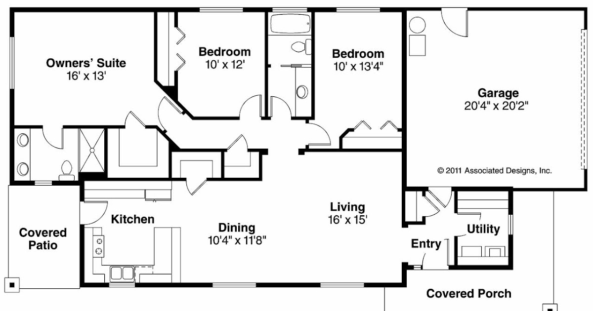 Floor plans with ranch house plans at eplans com house and for Www eplans com