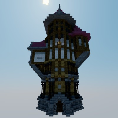 Me Val Mage Tower Minecraft Project