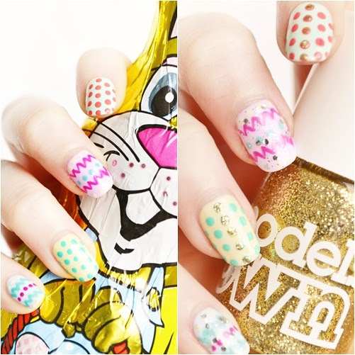 Models_own_easter_nail_art