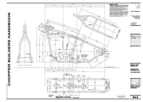 chopper frame blueprints  reader jewelrydigital