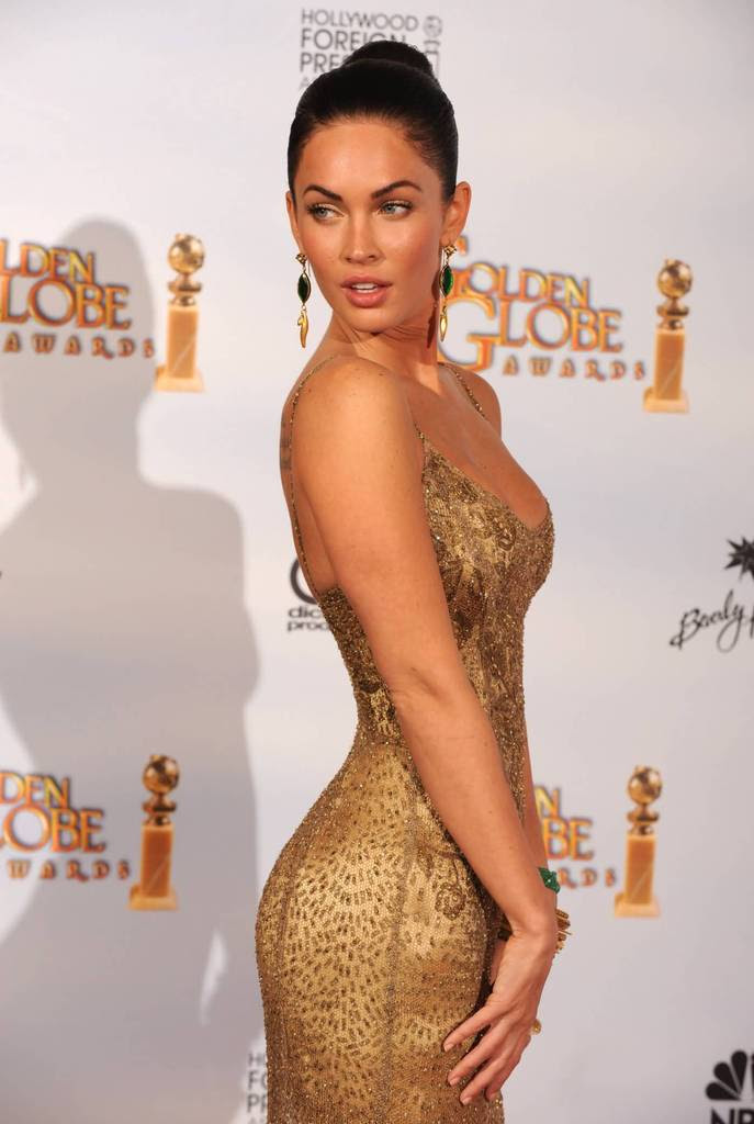 Sexy Megan Fox Pictures - 2009 Golden Globes Awards - Sexy Actress Pictures | Hot Actress Pictures