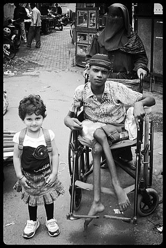 Marziya Shakir 2 And Half Year Old ...Crippled Motherhood by firoze shakir photographerno1