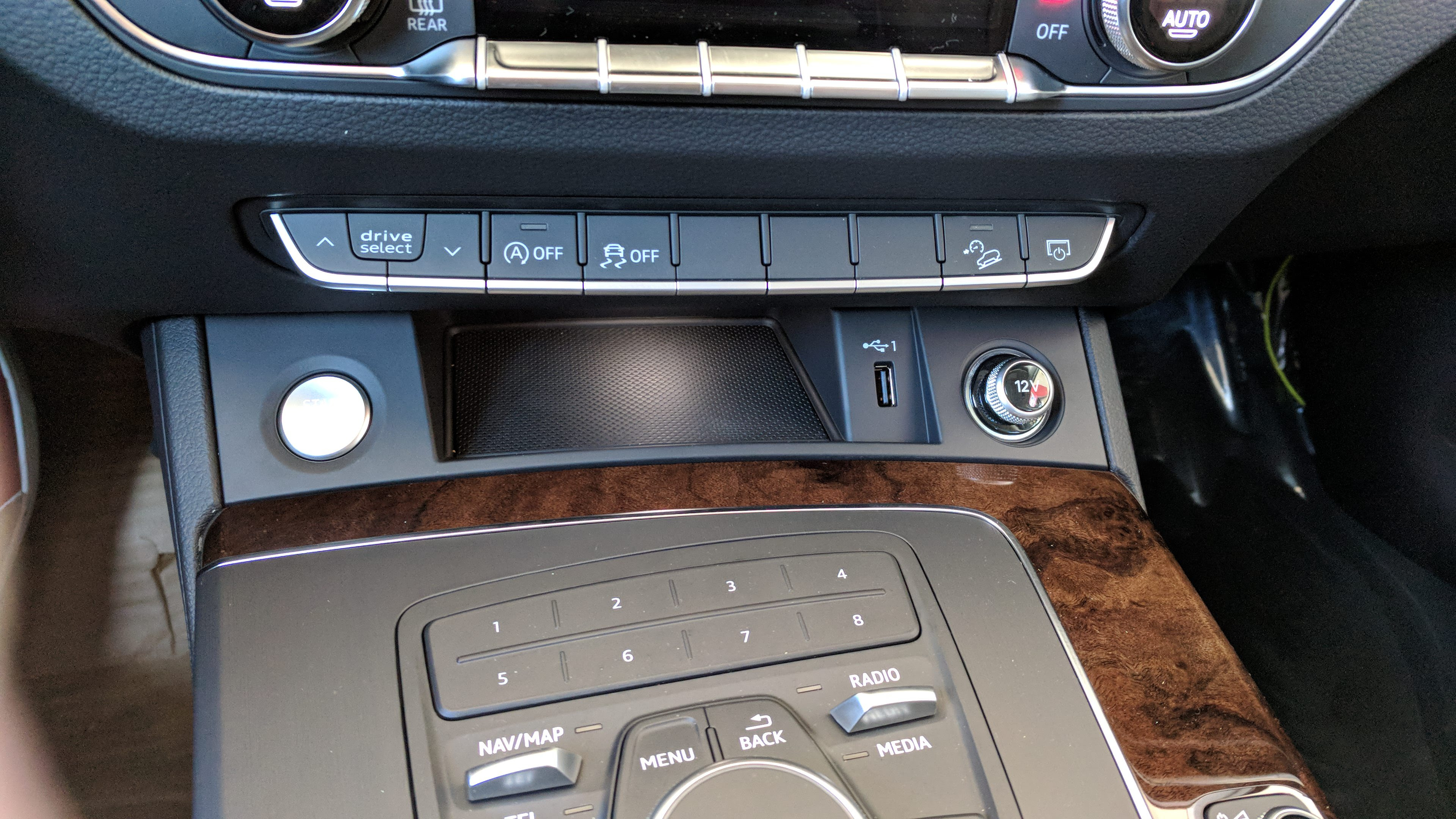 Audi Q7 Usb Port Location 2015