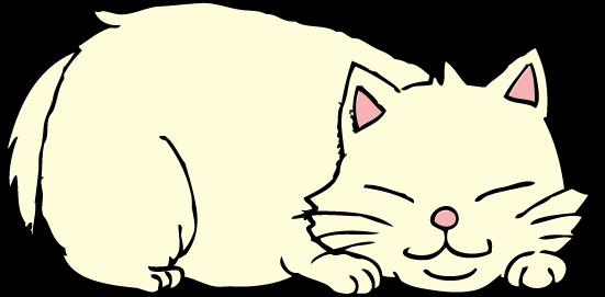 おデブ猫ちゃんのイラスト かわいいフリー素材が無料のイラストレイン