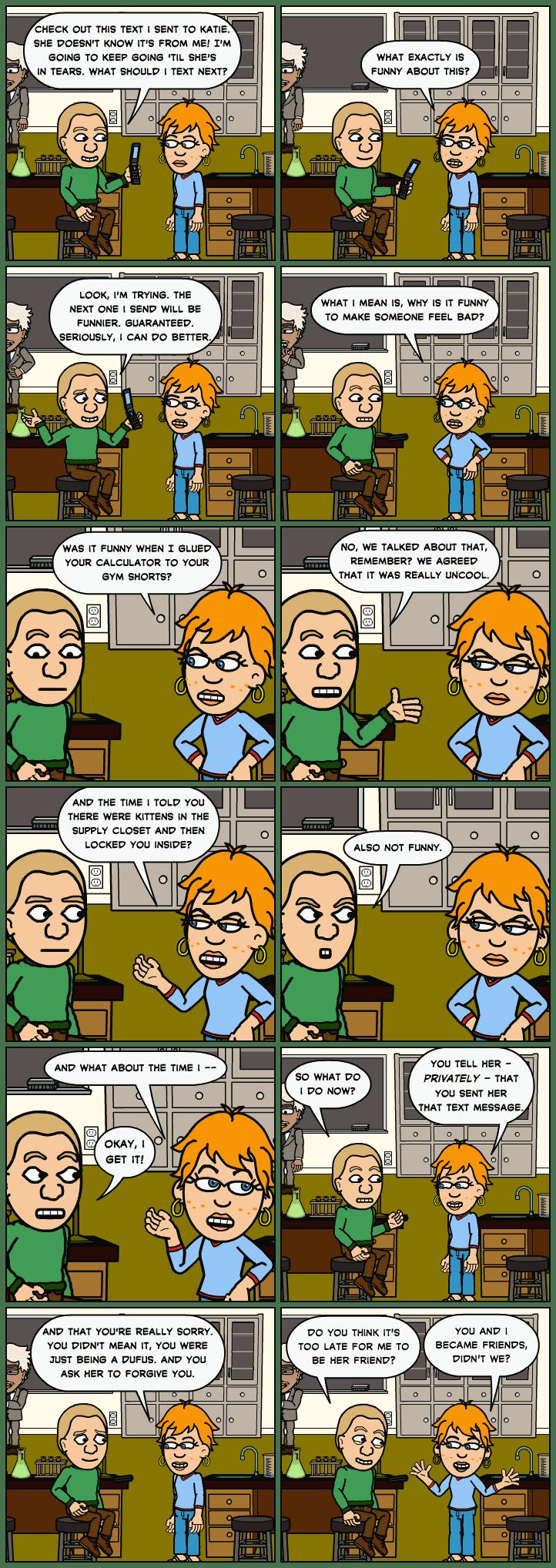 Anti Bullying Comic Bullying