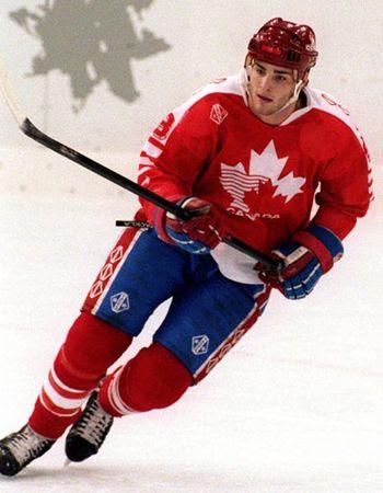 Eric Lindros 1992 Olympics