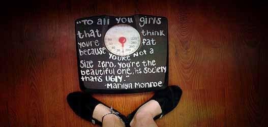 mulher acima do peso