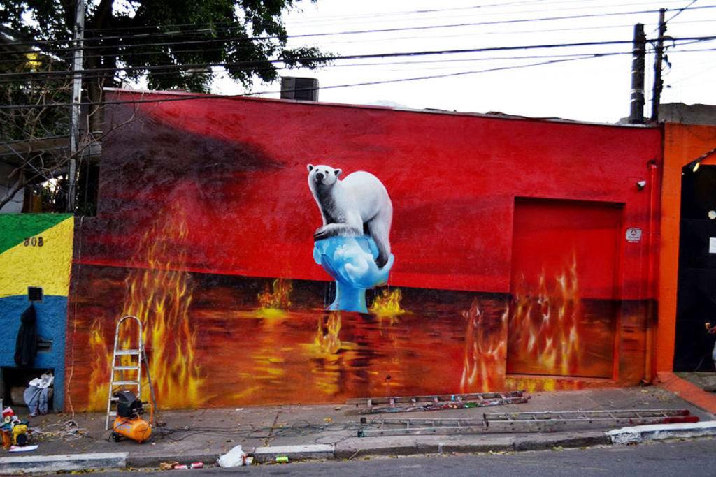 24 eloquentes obras de arte urbana mostrando a desagradável verdade 11
