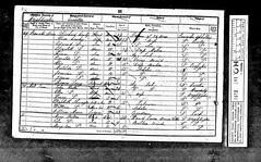 Richard Cowley Census 1851