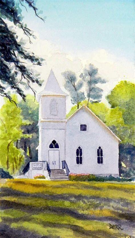 country church canvas print canvas art  todd derr