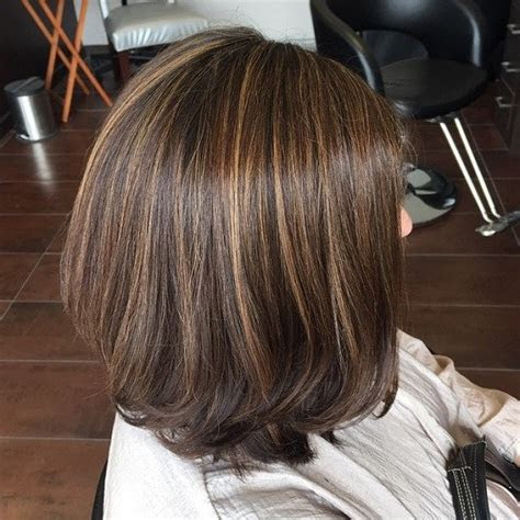 ideas  brown hair  highlights young hip fit