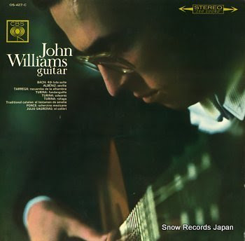 WILLIAMS, JOHN bach; fouth lute suite & spanishguitar pieces