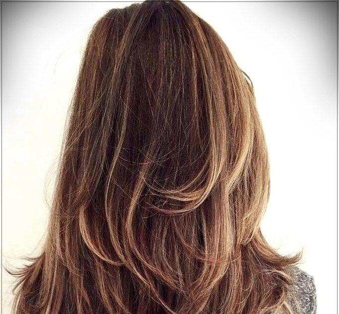 frisur lange haare schnitt - frisur