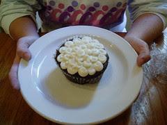 vegan cupcake